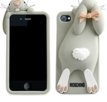 New Grey Moschino Rabbit Back Cover Case For Apple iPhone 5/5S/5C